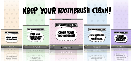 keep your toothbrush clean